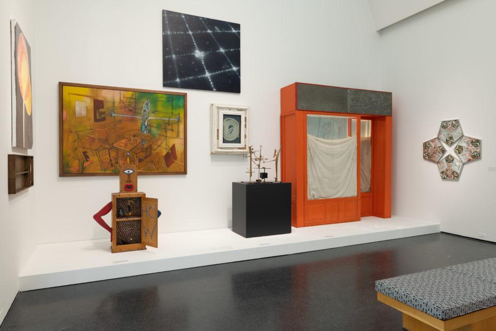 "Installation view, ""Duro Olowu: Seeing Chicago,"" 2020. Photo: Nathan Keay, © MCA Chicago."